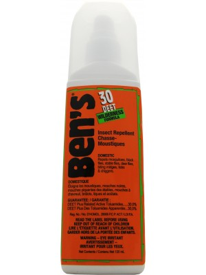 Ben's® 30% Tick & Insect Repellent 120 mL Pump Spray